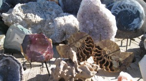 Interesting collection of Geodes, Crystals and Fossils