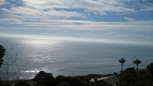 View of Pacific Ocean from Hope Ranch
