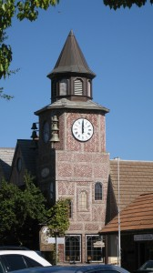 Clock Tower in Solvang