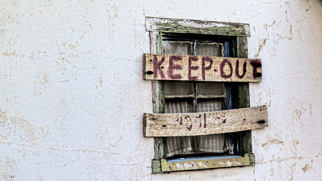 keep out 1739